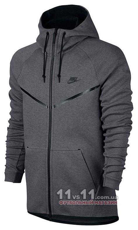 ab21af93 Кофта мужская Nike M NSW TCH FLC WR HOODIE FZ 091 - купить в ...